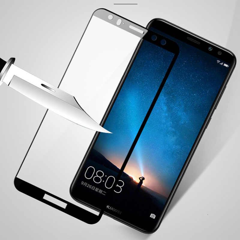 Bảo vệ Kính Cường Lực Cho Huawei Mate 10 9 Lite P Smart Nova 2i Gr3 Gr5 Cường Lực Glam Tấm Bảo Vệ Màn Hình Ốp Lưng Trên các Mate10 10 Lite
