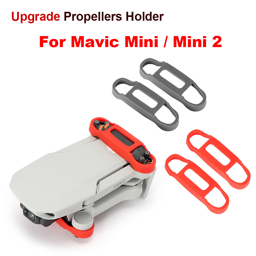 Upgrade Mavic Mini 2 Silicone Propeller Holder Fixed Stabilizers Protective Prop For