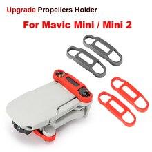 Обновленный силиконовый держатель пропеллера Mavic Mini 2 фиксированные стабилизаторы защитный реквизит для DJI Mavic Mini/Mini 2 Аксессуары для дрона