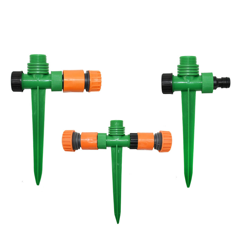 Female 1/2 Nozzle Holder 3/4 Male Plastic Spike Hose Connector 1/2 Taper Watering Plants 1pcs