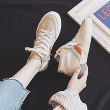 High Top Canvas Shoes Women Casual