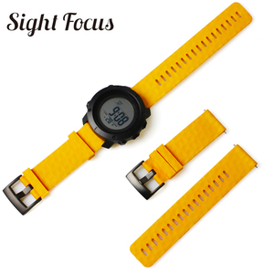 Image 3 - Sight Focus 24MM Silicone Watch Strap For Suunto9 Spartan Sport Watch Band Quick Release Suunto 9 Baro Traverse Rubber Watchband
