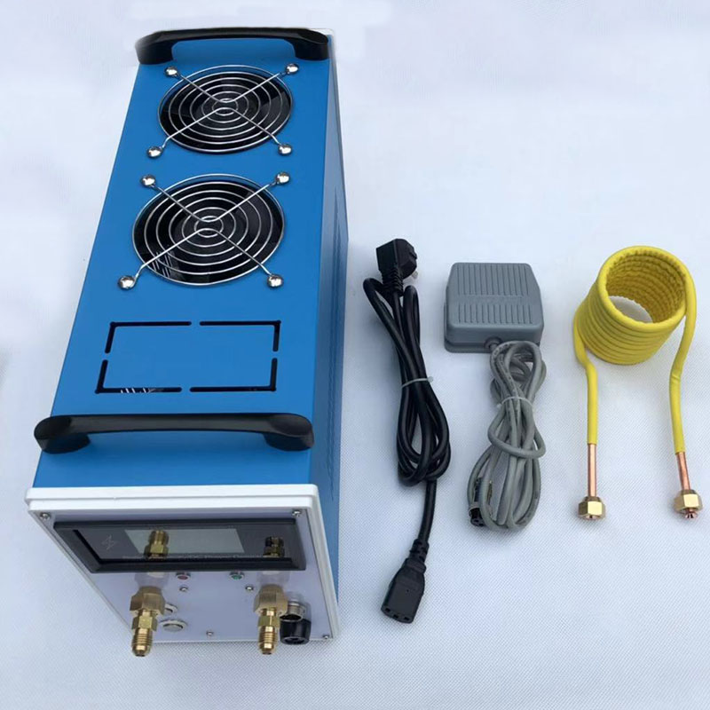 NEW 2800W ZVS Induction Heater Induction Heating Machine Metal Smelting Furnace Metal Quenching Equipment+crucible+Heating coil|Magnetic Induction Heaters| |  - title=