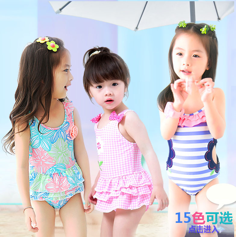 2020 Hot Selling Combination KID'S Swimwear Big Boy Hollow Out Cat One-piece Baby Cute Hot Springs Korean-style Bathing Suit