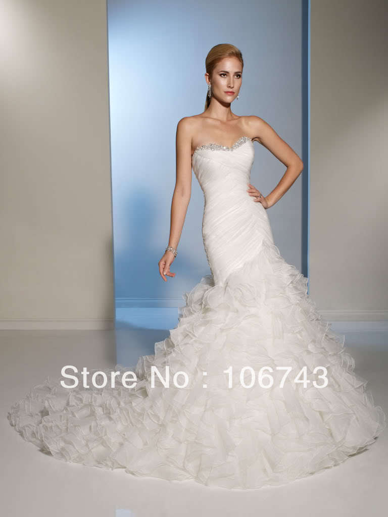 Free Shipping 2020 New Style Sexy Brides Custom Sheath Crystal Lace Up Vestido De Noiva Bridal Gown Mother Of The Bride Dresses