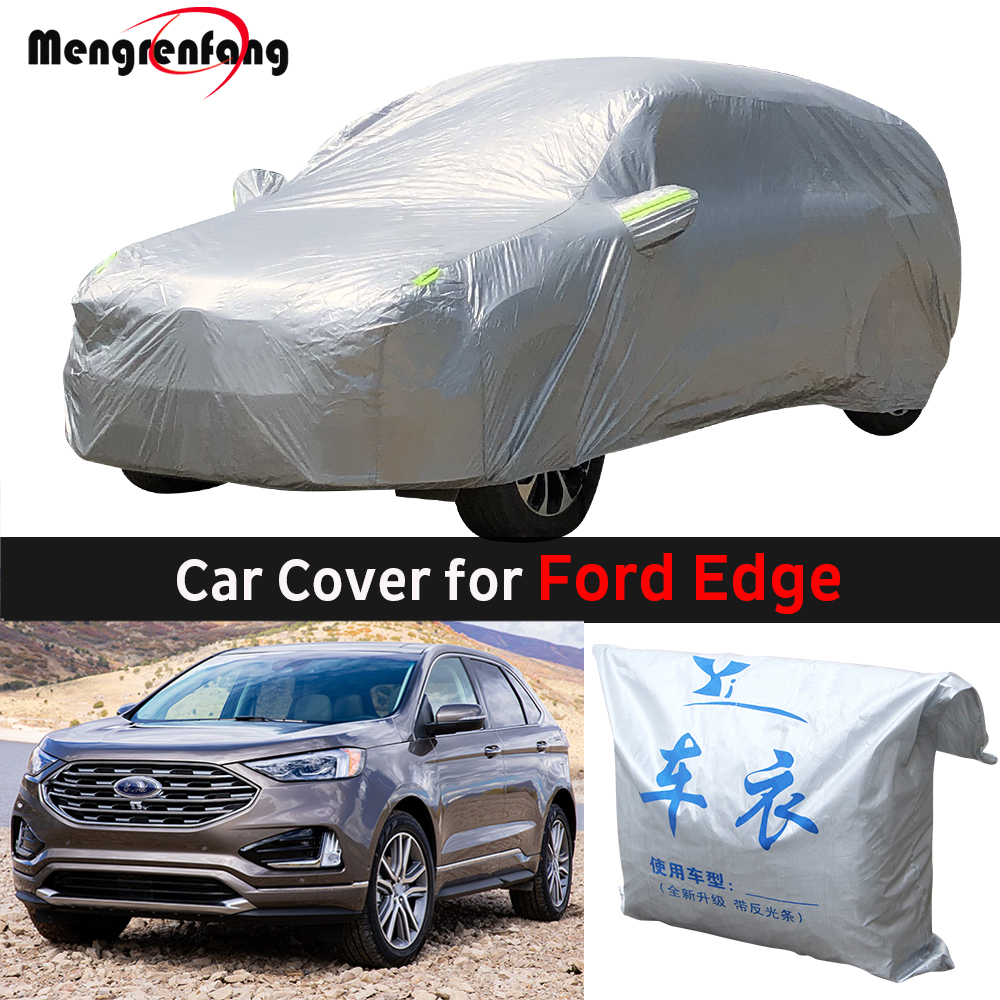 For Ford Edge 2007-2019 Car Cover Outdoor Sun Shade Anti-UV Rain Snow Frost Protection SUV Cover Dust Proof