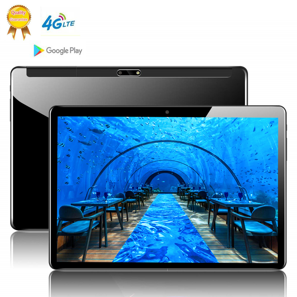 10.1 Inch Tablets PC Deca 10 Core 128GB ROM Dual SIM 8.0 MP GPS Android 9.0 Google Player IPS The Tablet 4G LTE RAM 8GB 2560