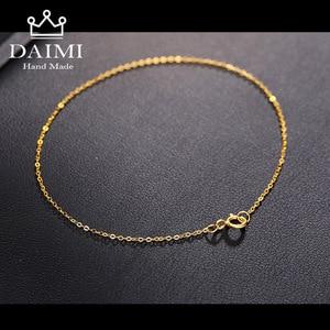 DAIMI 18k Pure Gold Women Bracelet Yello