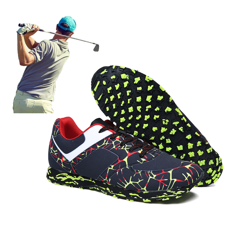 Black Green Athletic Trainers Brand Professional Golf Shoes For Men Women Comfortable Anti Slip Mens Golf Sport Training Shoes