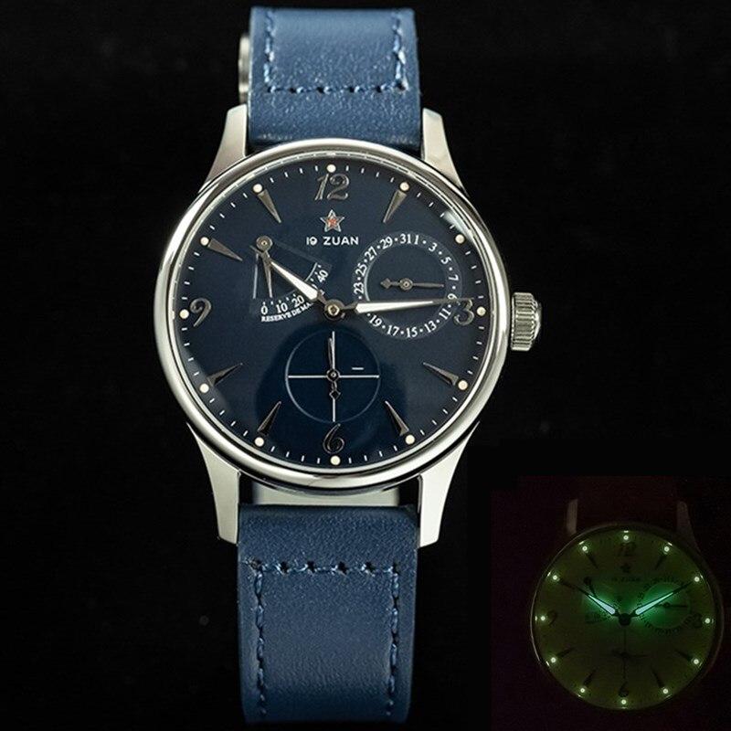 st2714 movt calendário safira vidro esportes masculino relógio luminoso mãos