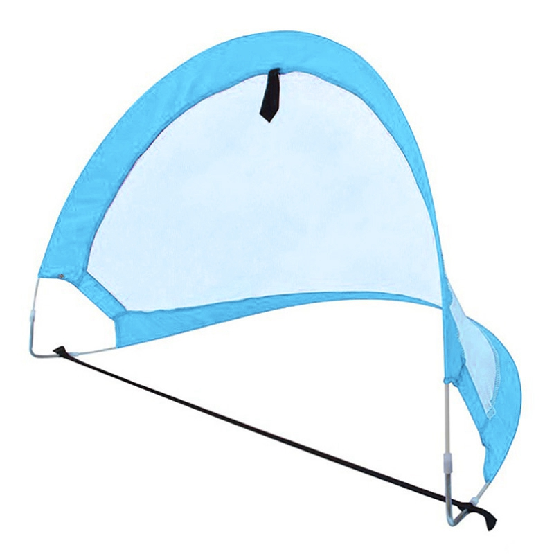1 Piece Soccer Football Goal Net Folding Training Goal Net Tent Kids Indoor Outdoor Play Toy,Blue