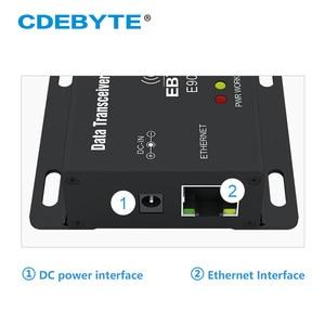 Image 3 - E90 DTU 433C30E Ethernet Modbus Lange Palette 433 MHz 1W IoT uhf 3km Wireless Transceiver rf Modul 433 MHz Sender empfänger