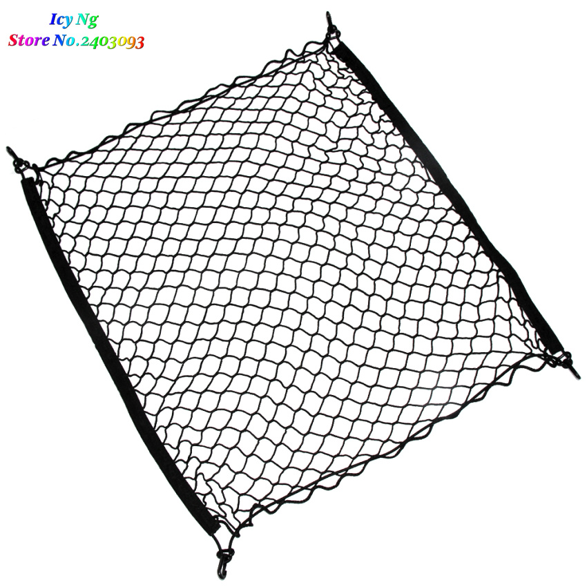Image 3 - Car Trunk Cargo Mesh Net 4 HooCar Luggage For Subaru Forester Outback Lmpreza Legacy Tribeca XV BRZ-in Car Stickers from Automobiles & Motorcycles