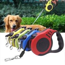 3 м/5 м прочный поводок для собак, автоматический Выдвижной Нейлоновый Поводок для собак, кошек, поводок для собак, поводок для прогулок, поводок для бега, рулетка для собак