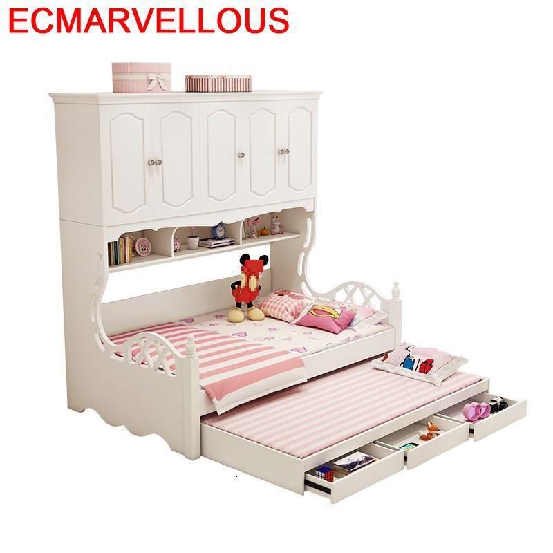 Yatak Litera Kinderbedden Bois For Children Wooden Bedroom Furniture Lit Enfant Muebles De Dormitorio Cama Infantil Kids Bed