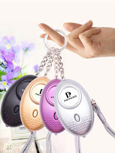 Pripaso Self-Defense-Alarm Loud Keychain Protect Alert 130db Security Personal Safety