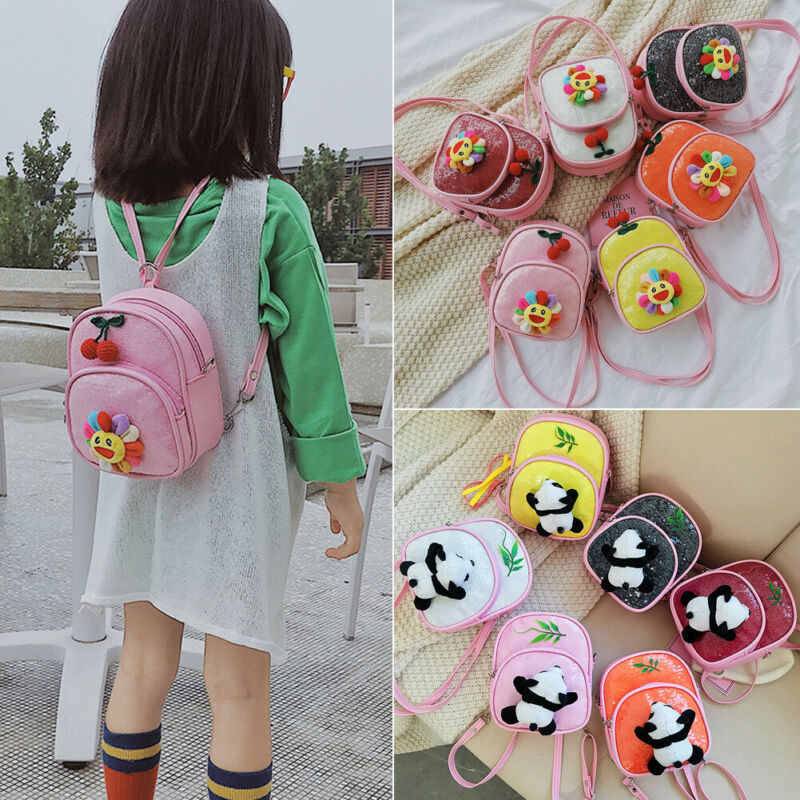 Toddler Kids Children Boys Girls Cartoon Animal Backpack School Bag Rucksack US