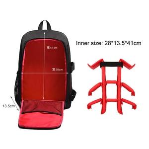 "Image 2 - Multi functional Waterproof w/ Rain Cover 15.6"" Laptop Video Case Digital DSLR Photo Padded Backpack Camera Soft Bag for SLR"