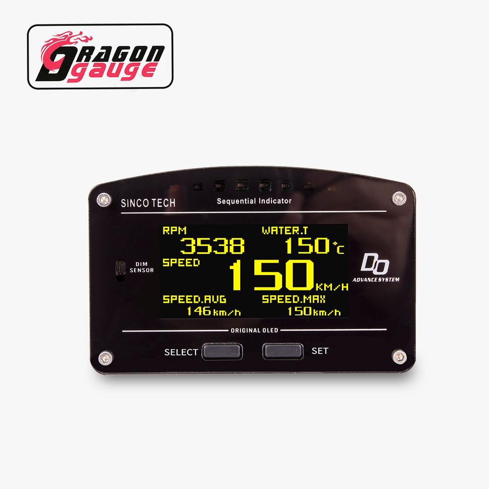 Race DRAGON 10 10 в 1 панель для гоночного прибора OLED цифровой дисплей полный набор сенсорных экранов многофункциональная приборная панель для авт...