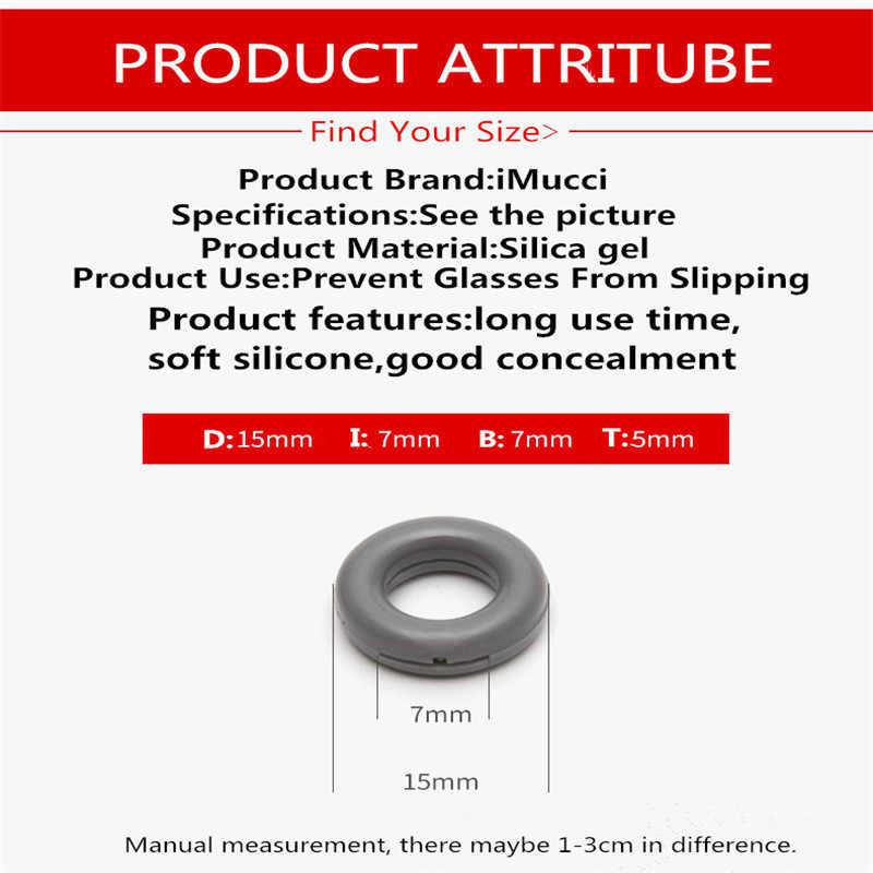 แว่นตาเคล็ดลับ Retainer ซิลิโคน Anti-SLIP ผู้ถือ Comfort แว่นตาหู Hook ขากระจกแว่นตาอุปกรณ์เสริม