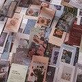 20 шт. цветочный постер винтажная серия наклеек s Kawaii Канцтовары Diy Скрапбукинг дневник этикетка наклейка
