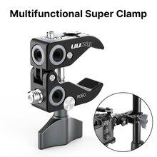 UURig Metall Super Clamp Sicherung Clip Tragbare Reise Stativ für Canon Sony Nikon DSLR Zubehör
