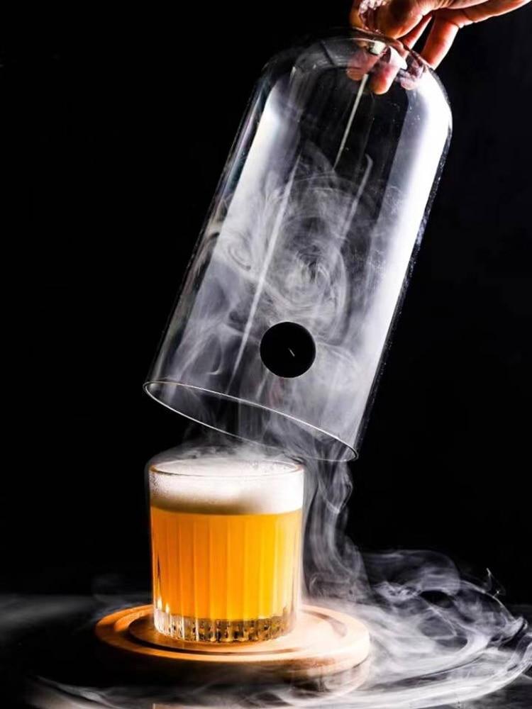 Boruit Cold-Smoke-Generator Smoker Bbq-Grill Cuisine Smoking-Gun Wood Food Meat-Burn