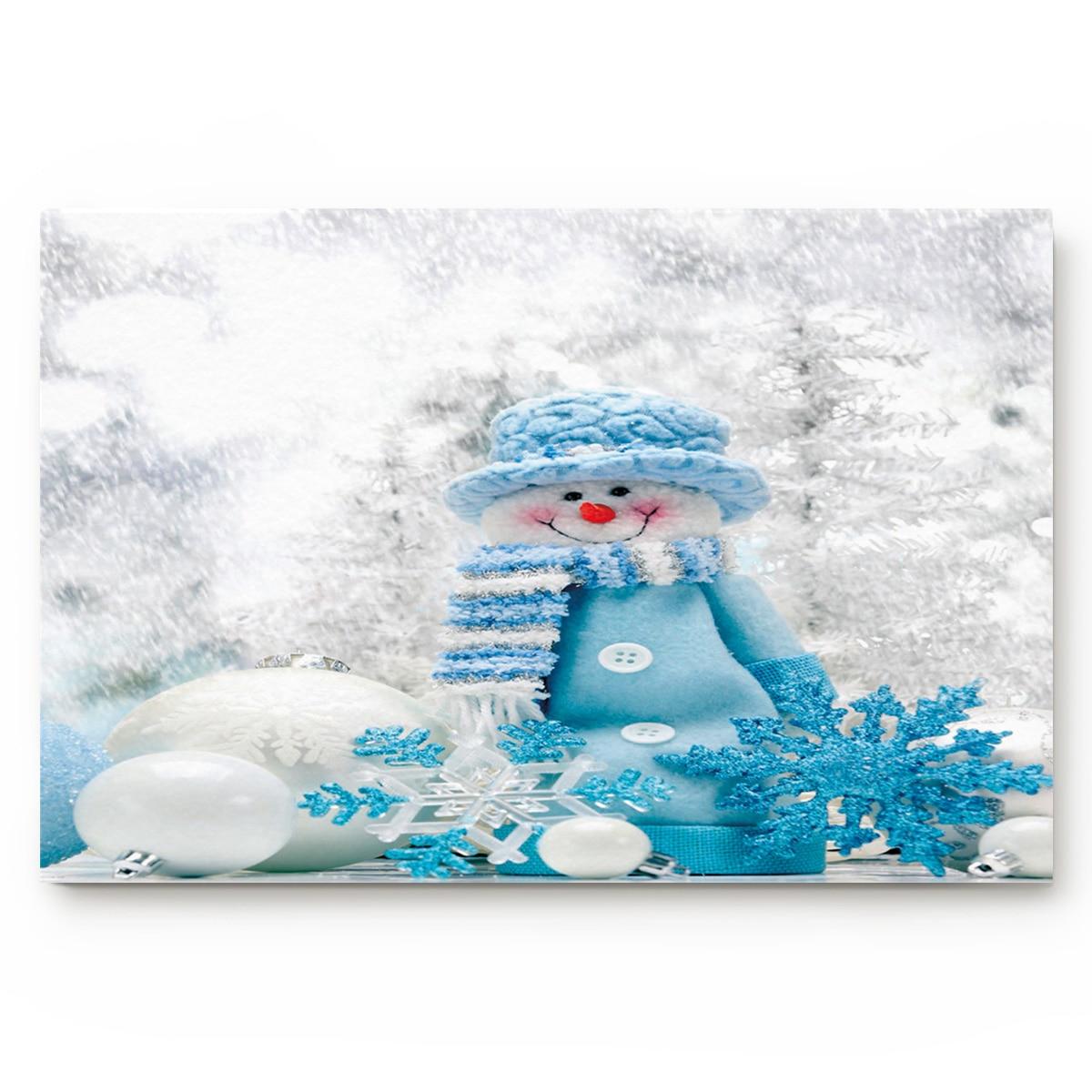 Рождественские коврики для ванной с изображением снежного цветка, рождественские коврики, нескользящий дверной коврик, ковер, аксессуары д...