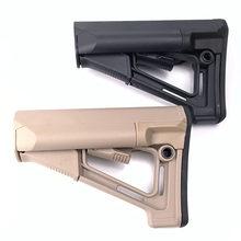 Jinming 8 9 geração xm316 suporte traseiro pistola de blaster gel água metal acessórios coração náilon str estoque