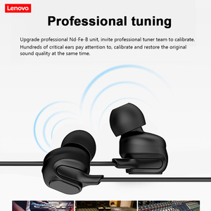 Image 2 - Lenovo HF150 Headset with Mic In ear Wired Earphone for Smartphone MP3 Notebook 3.5mm Jack Gaming Music Headphone