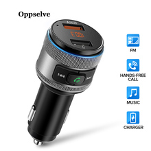 Oppselve Car Charger Dual USB รถ Charger รถ USB Charger สำหรับโทรศัพท์ 2 Port Fast Car  สำหรับ iPhone X 11 Samsung
