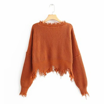 Bonjean Jumper Knitted O Neck Winter Tops Turtleneck Pullovers Casual Sweaters Women Shirt Long Sleeve Short Slim Sweater Girls knitted tops jumper broken lace casual high neck pullovers sweaters women shirt long sleeve short slim tight sweater girls