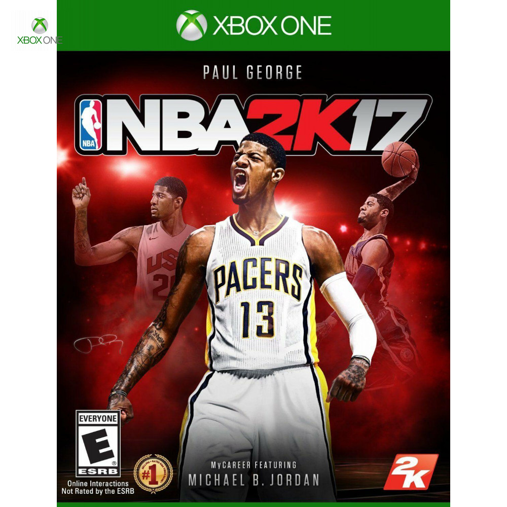Игра для Xbox one NBA 2K17(английская версия
