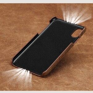 Image 4 - אמיתי למשוך למעלה עור טלפון מקרה FHX NP עבור iphone 5 5S SE 6 8 7 6s בתוספת כיסוי עבור iphone X 11 11 פרו 11 פרו מקס XS XR XS מקסימום