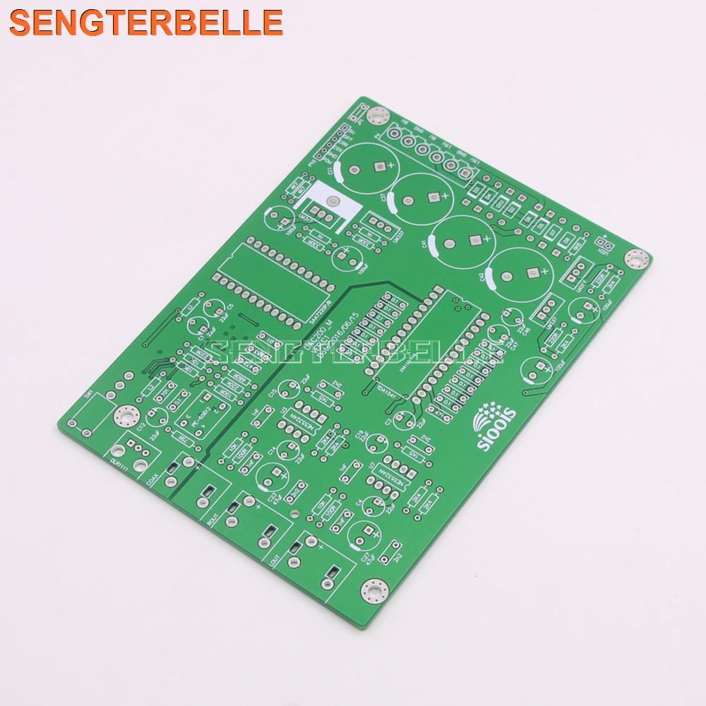 New TDA1541 Audio DAC Decode PCB Board DIY Bard PCB Circuit Board For Audiophile DIY