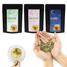 Зеленый чай 14 дней чистый натуральный травяной детоксикационный