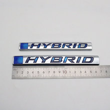 Decal Emblem-Sticker Auto Logo Toyota Honda Accord Badge Hyundai Lexus HYBRID for Nameplate