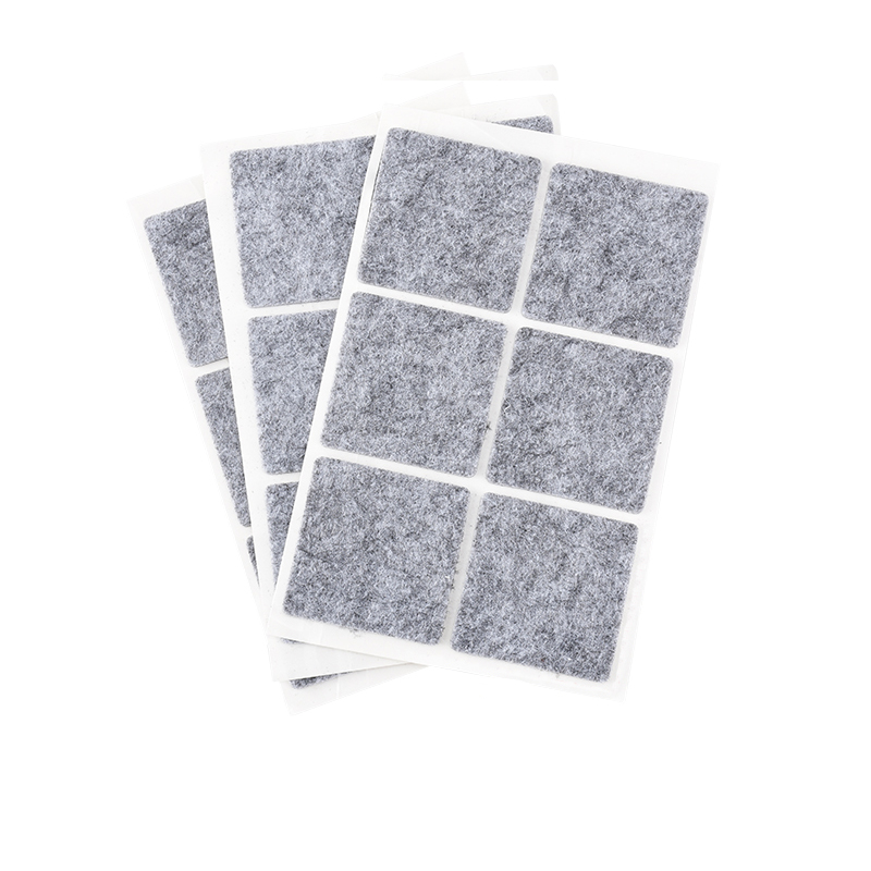 Купить с кэшбэком Non-woven Furniture Legs Self Adhesive Feet Rug Felt Pads Non-slip Wear-resistant Cushion Sofa Cabinet Bumper Damper for Chair