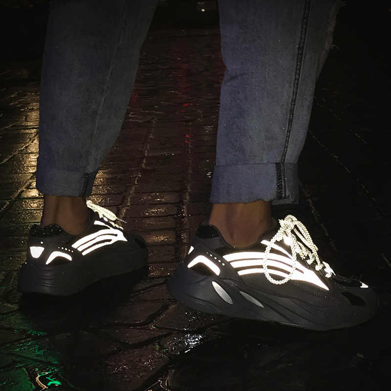 En kaliteli marka erkek ışıklı rahat ayakkabılar erkekler Sneakers erkekler eğilim harici artırmak topuklu ayakkabılar moda Unisex ayakkabı kadın
