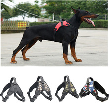 A01-A05 Durable Reflective Pet Dog Harness For Dogs Adjustable Big Walking Small Medium Large