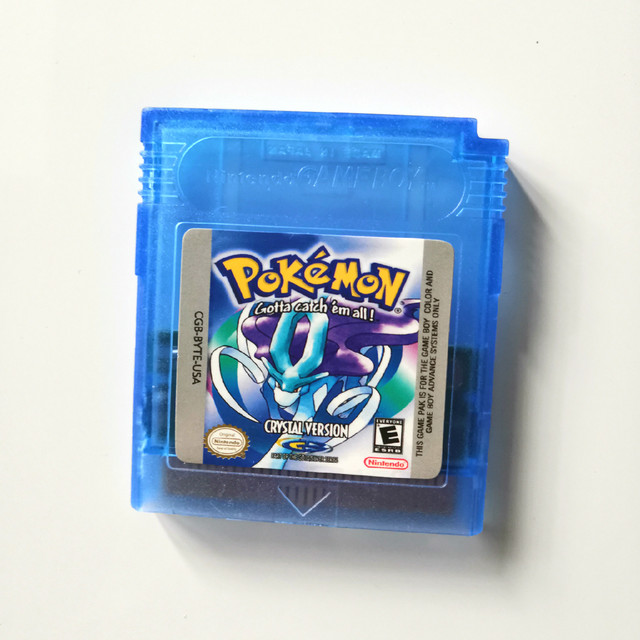 Pokemon GBC Games  Series 16 Bit Video Game Cartridge Console Card Classic Game Collect Colorful Version English Language 6