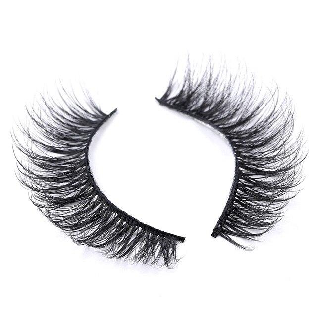 5/8/10 pairs 3D Mink Lashes Natural False Eyelashes Dramatic Volume Fake Lashes Makeup Eyelash Extension Silk Eyelashes 4