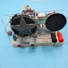 Kit de radio de onda corta con tubo de lámpara, banda de cinco ondas, 1 unids/lote, con kit de base, envío gratis