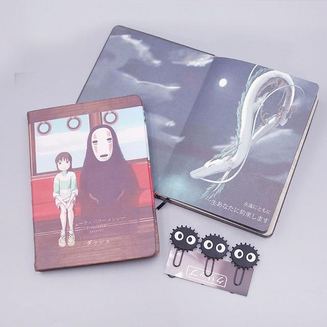Аниме Блокнот и ручка Унесенные призраками 5