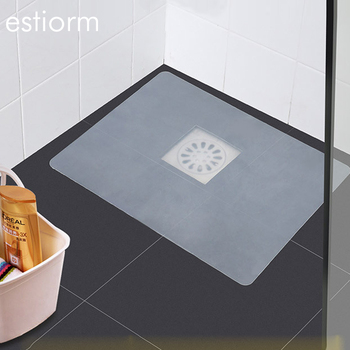 Silicone kitchen sink stopper, can be cut stretchy bathroom floor drain smell sealed Drain Cover 40x30cm