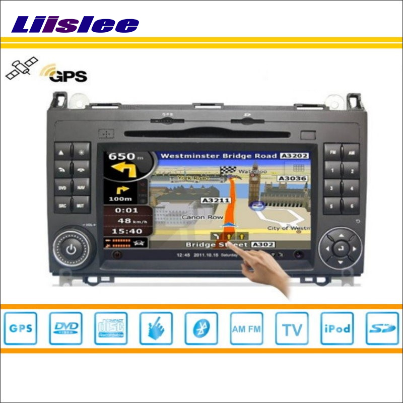 Auto Multimedia-System Fü<font><b>r</b></font> VolksWagen <font><b>Crafter</b></font> 2008 ~ 2010 2012 2013 Radio CD DVD Player GPS Satellite Navigation HD Touch bildschirm image