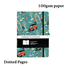 Bullet journal a5 142x205 мм Жесткий Чехол 100 г 192 страницы