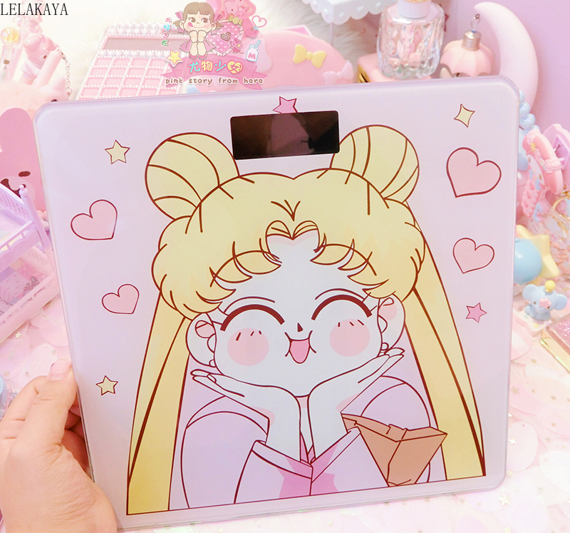 Sailor Moon Glass Digital Weight Scale 1
