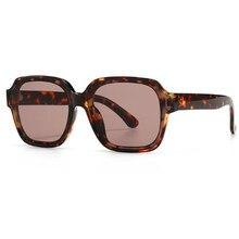 Hombre gafas de sol de carey de playa de conducción lentes de sol para dama de moda de lujo 2020 diseñador de la marca cuadrado tonos gafas