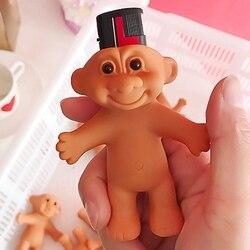 Troll porte-briquet poupée boîte à briquet en carton jouet caoutchouc briquet support de rangement briquet coque étui accessoires pour cigarettes